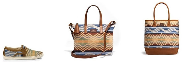 limited edition Pendleton Wool Ugg Bags