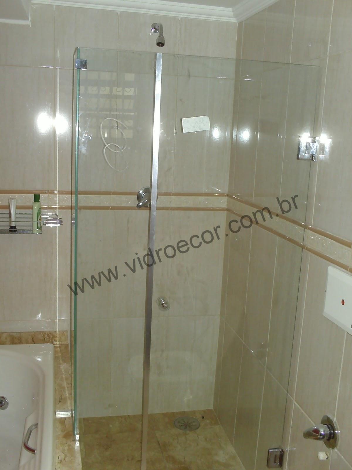 Imagens de #5D5134  em Vidros e Madeira: Box de vidro qual o ideal para o seu banheiro 1200x1600 px 2930 Box Banheiro Fume Ou Incolor