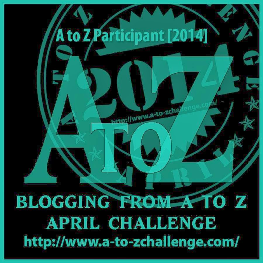Join me for the A-Z Challenge