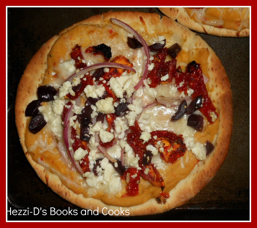 Greek Pita Pizza - Hezzi-D's Books and Cooks