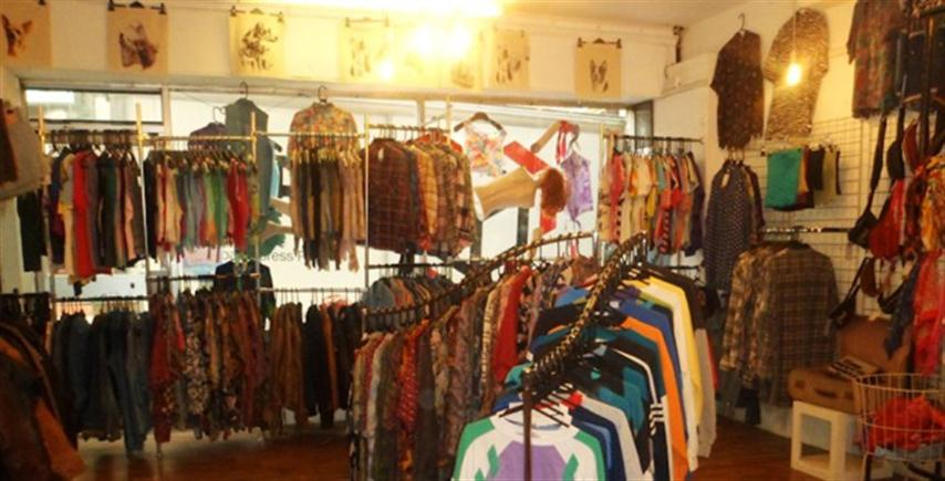 Indie style clothing stores