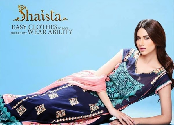 Shaista Cloth EID Collection 2014