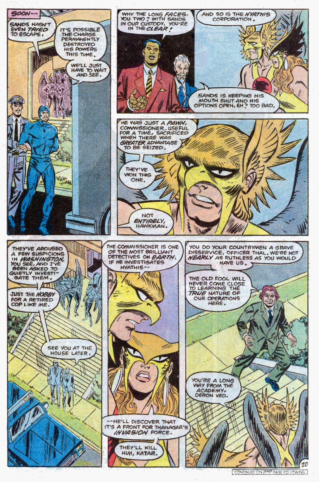 Hawkman (1986) Issue #3 #3 - English 23