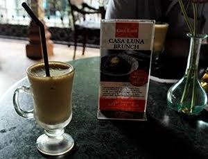 Iced cappuccino Casa Luna Ubud
