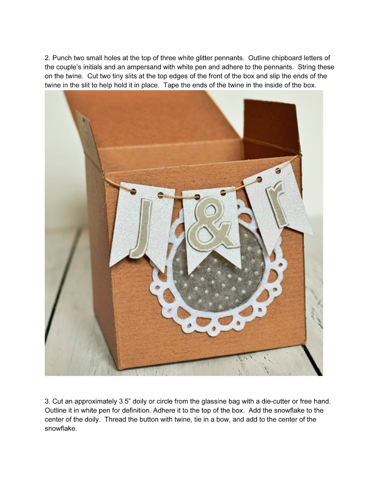 The Curtsey Boutique: Wedding Favor Box Tutorial with Jess Mutty