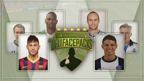 Football Manager DF11 Faces Megapack 2014