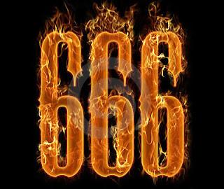 o número da besta, explicando o mito que estava escrito no livro apocalipse, da Bíblia sagrada.