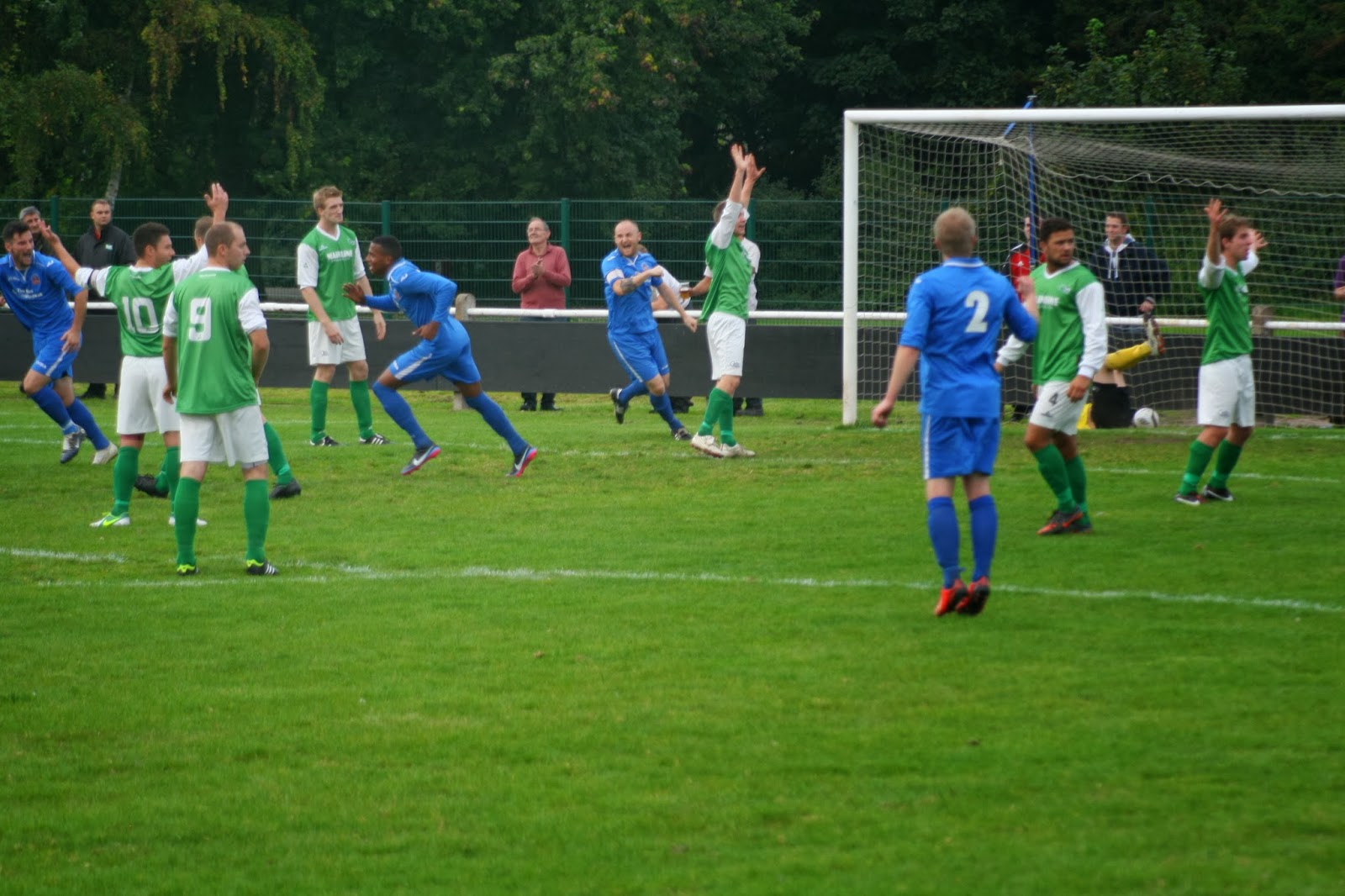 Brocton FC Went In To This Match With A 100 Record Out Of Their Six Game League Start But Be More Than Happy Return Home Point After Good