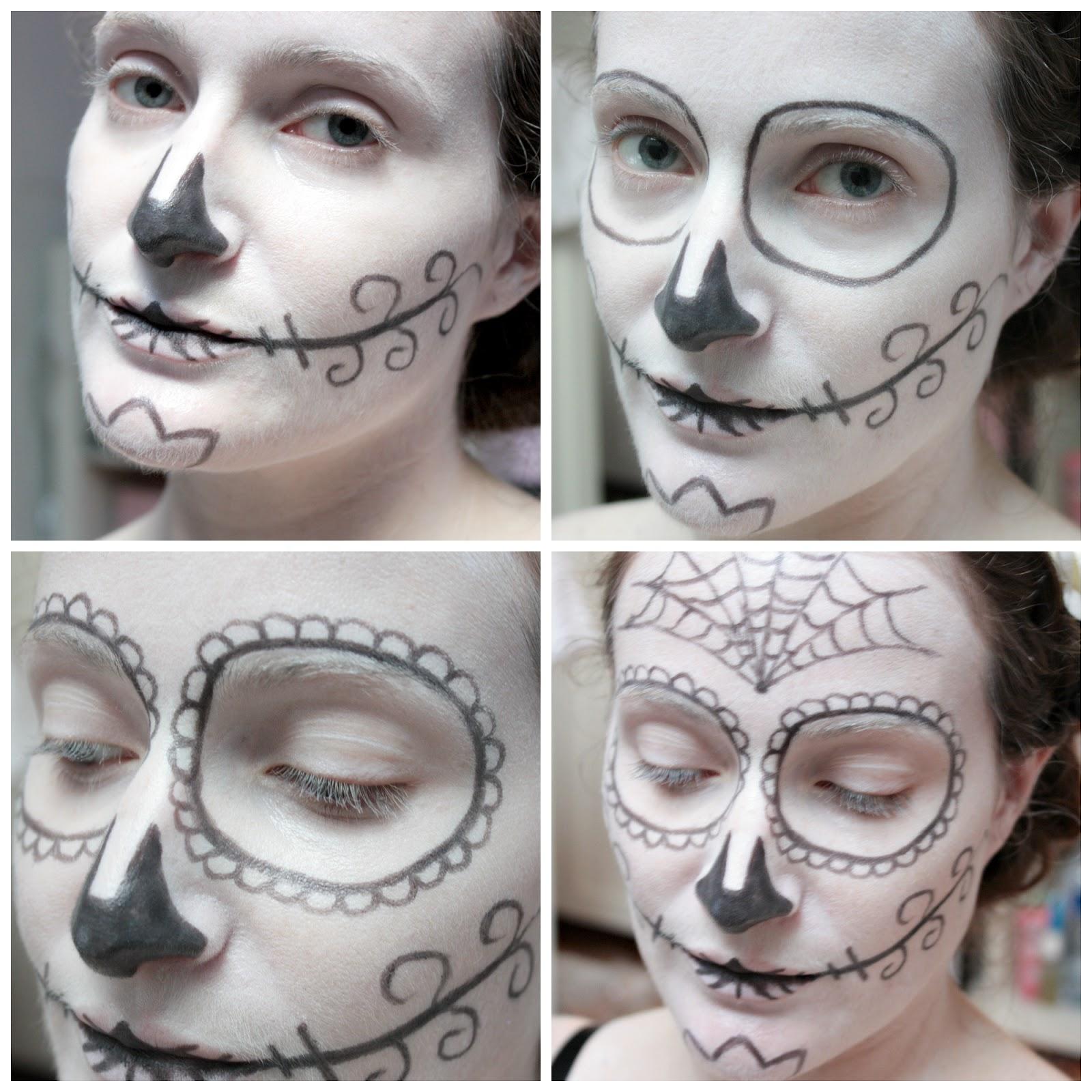 Bevorzugt Nous les Nanas: Happy Halloween // Sugar Skull Makeup QD57