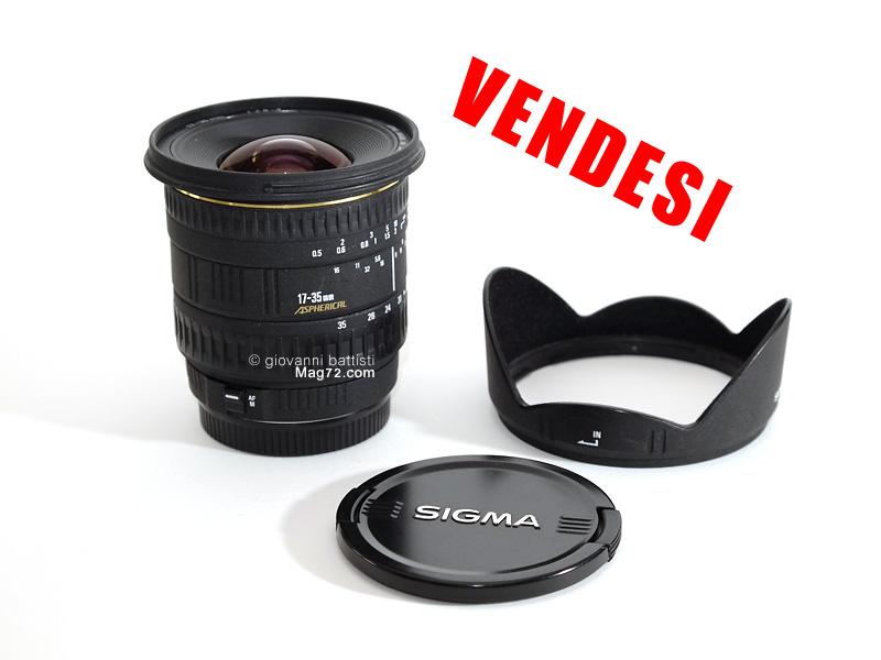 Fotografia di Sigma 17-35mm f/2.8-4 EX Asph HSM in vendita