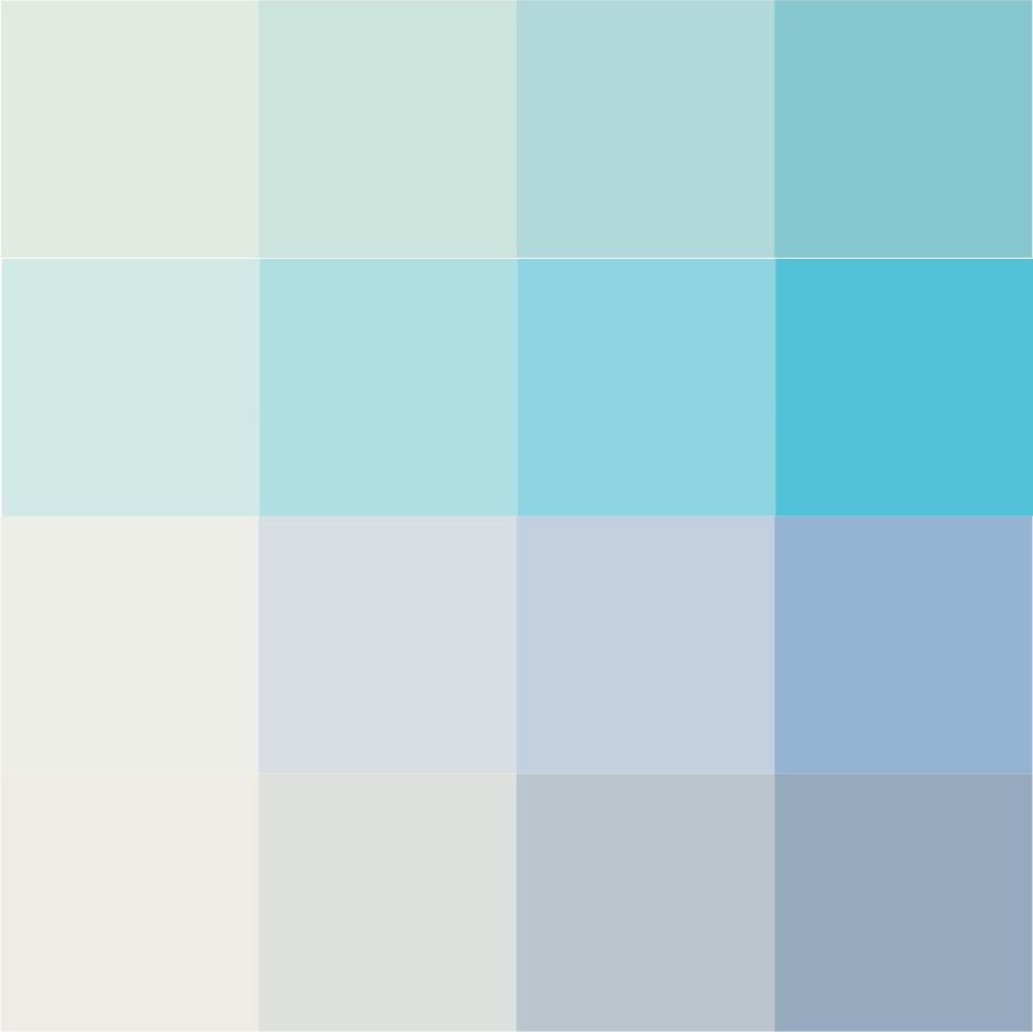 Designcardamom dedicato a leonardo for Palette di colori per pareti