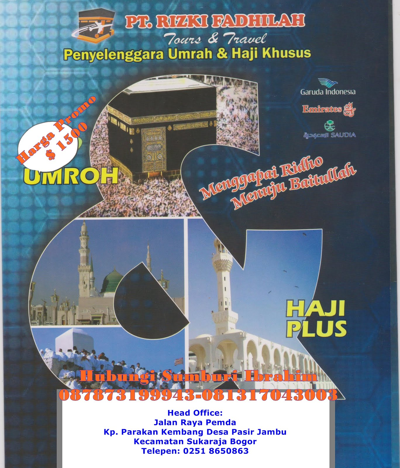 PT. Rizky Fadhilah Perjalanan Umroh dan Haji Plus