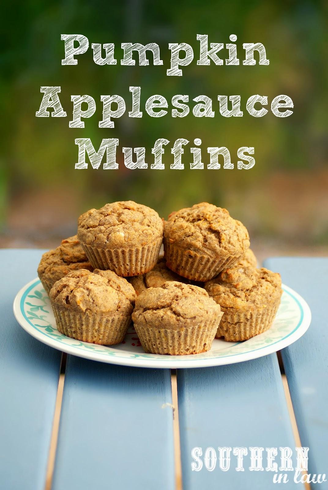 Healthy Pumpkin Applesauce Muffins - gluten free, vegan, low fat ...