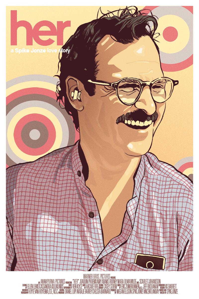 Joaquin Phoenix Her Poster
