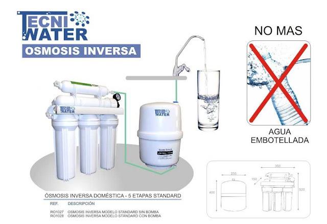 osmosis inversa doméstica 5 etapas precios donde comprar en alcasser tecniwater
