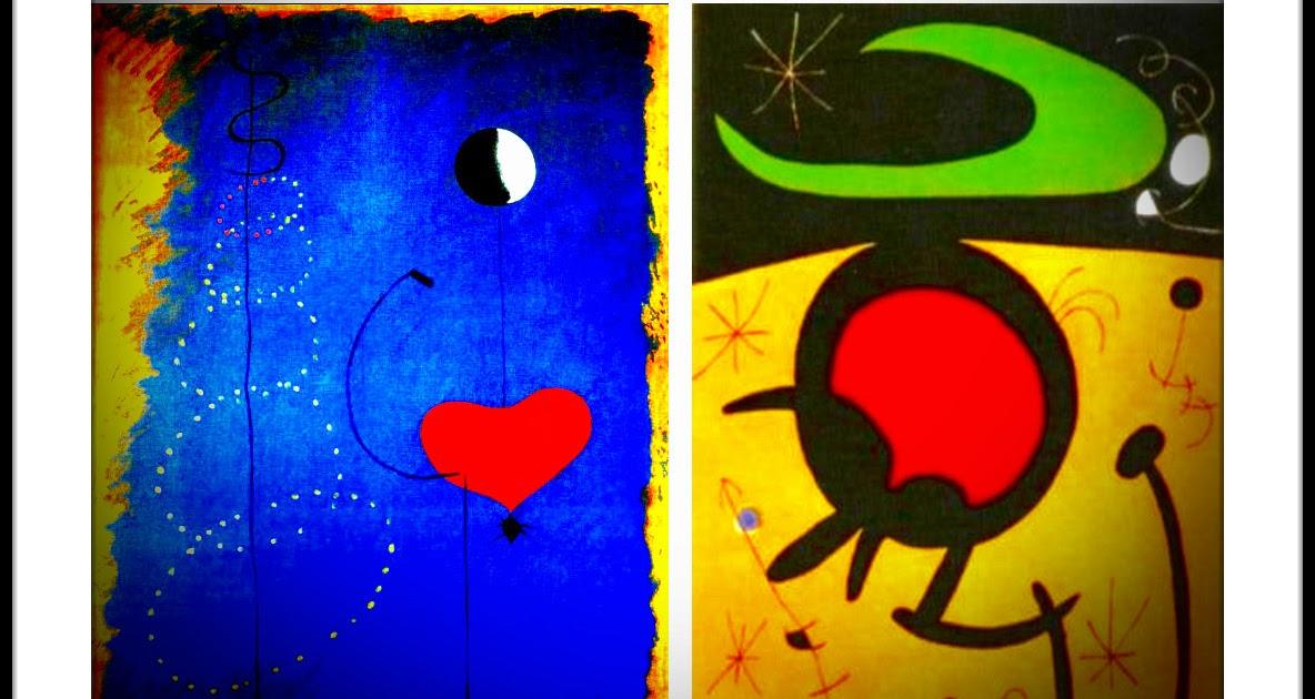 Proyecto pintamos como joan mir burbujitas - Nombres de cuadros famosos ...