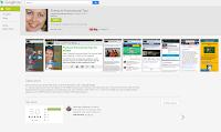 Sample of Google Play Author's App (inside the App)