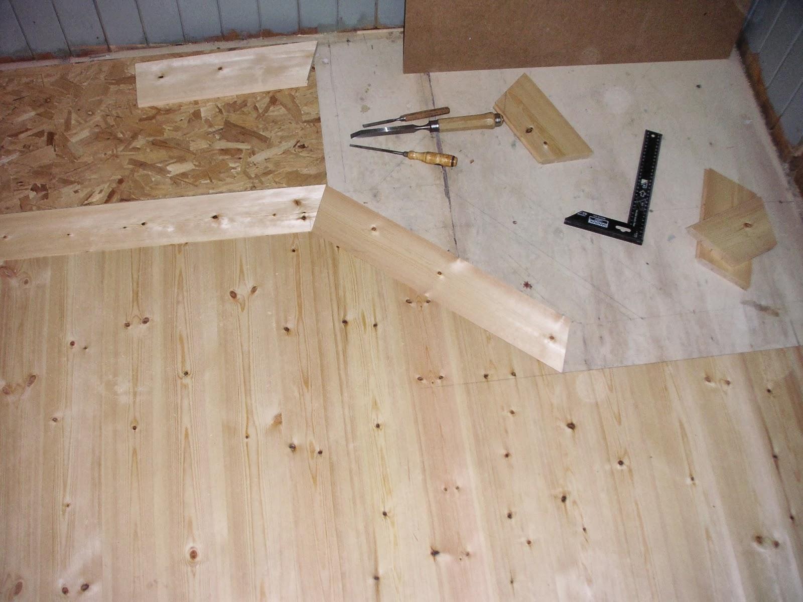 Kok Golvet : Och so hor ser golvet ut idag nor det or nyskurat med linoljesopa