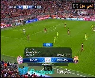 اهداف مباراة بايرن ميونخ 3-2 برشلونة || مباراة الاياب barca vs bayern