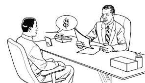 pedindo aumento de salário