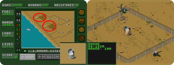 Resultado de imagem para desert strike história