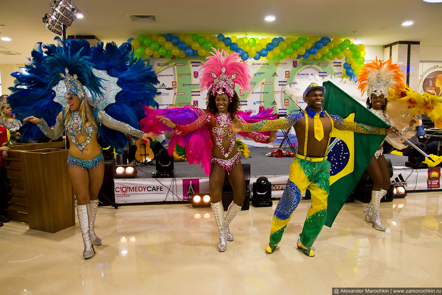 Карнавал в ТРЦ РИО в исполнении артистов Terra Brasil Show