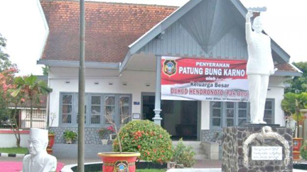 Patung Bung Karno Lengkapi Koleksi Museum Istana Gebang