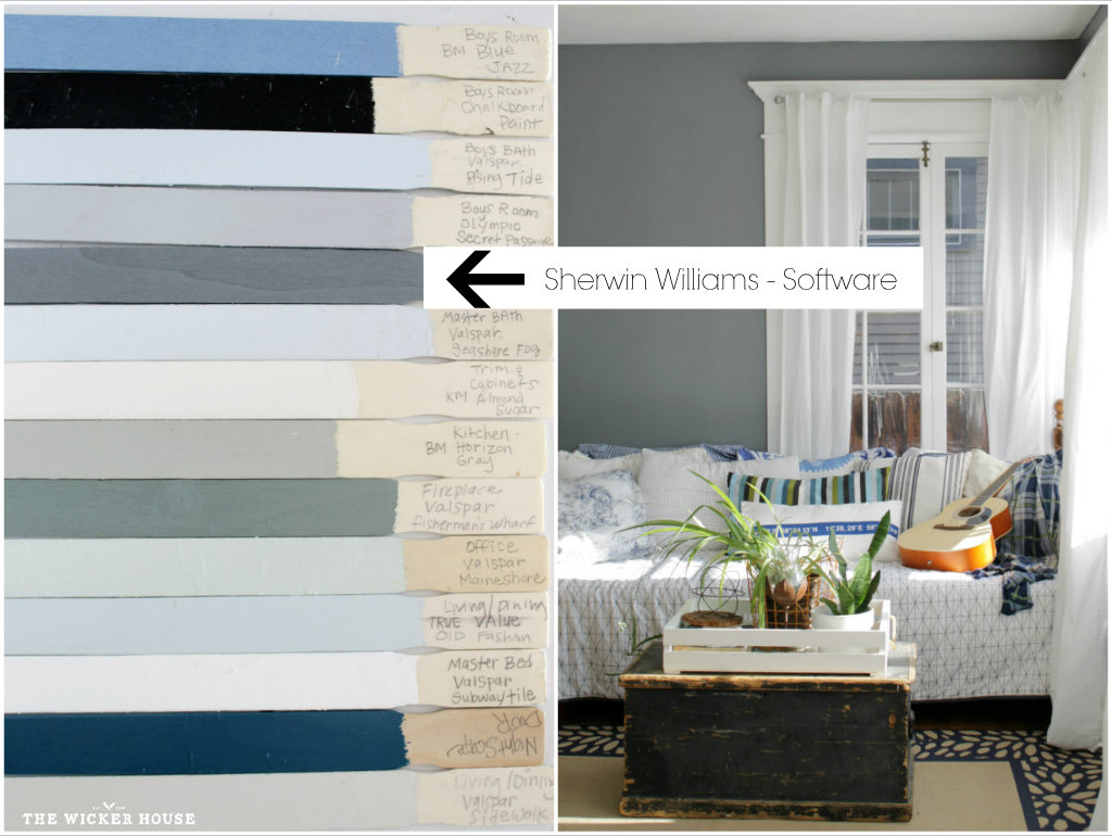 The Wicker House Paint Colors - The Wicker House