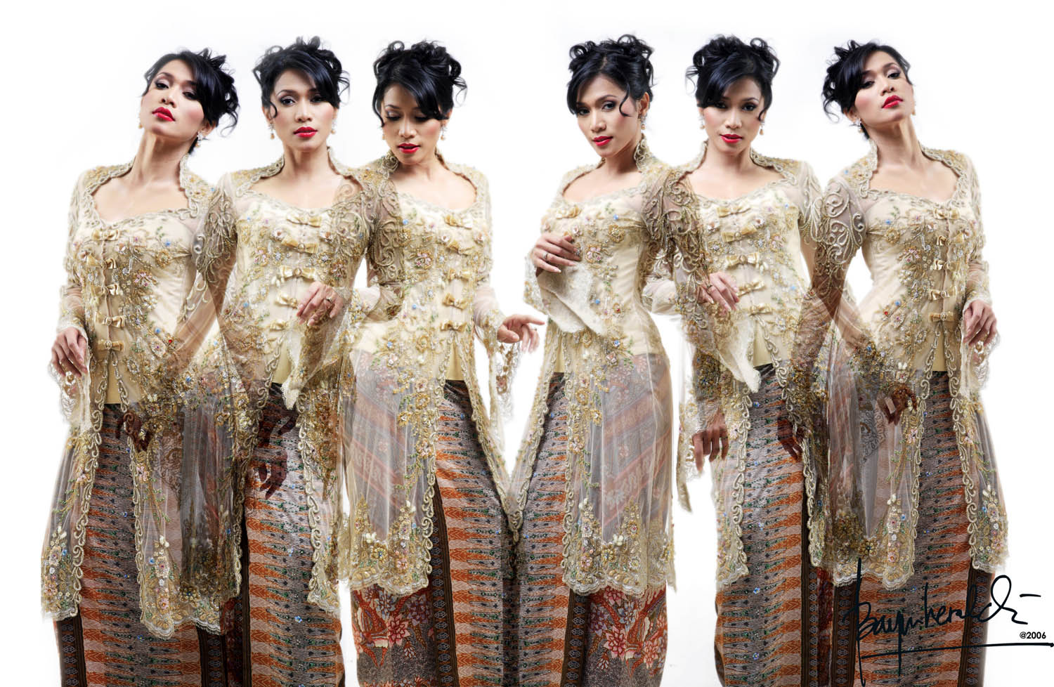Kebaya, the Indonesian Women Traditional Costume