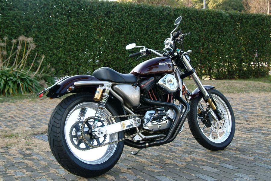 Racing Caf U00e8  Harley Xlh 883 Sportster By Ichikoku