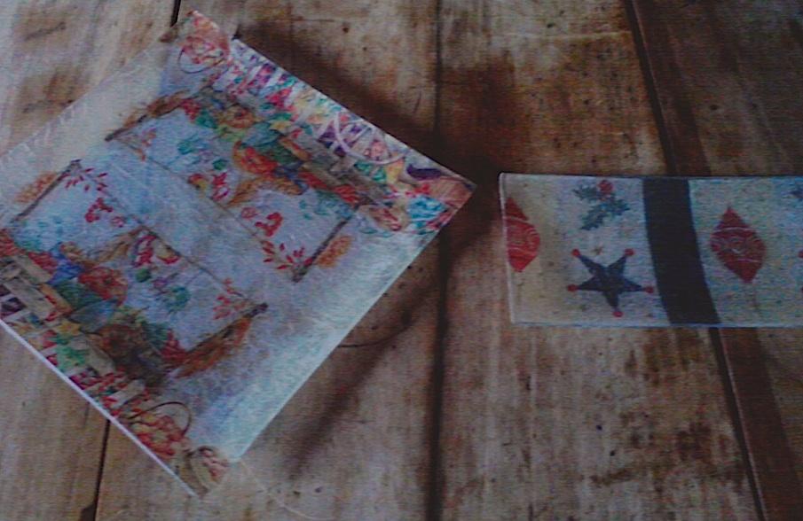 Cuaderno de campo bandejas de cristal decoradas con - Servilletas decoradas de papel ...