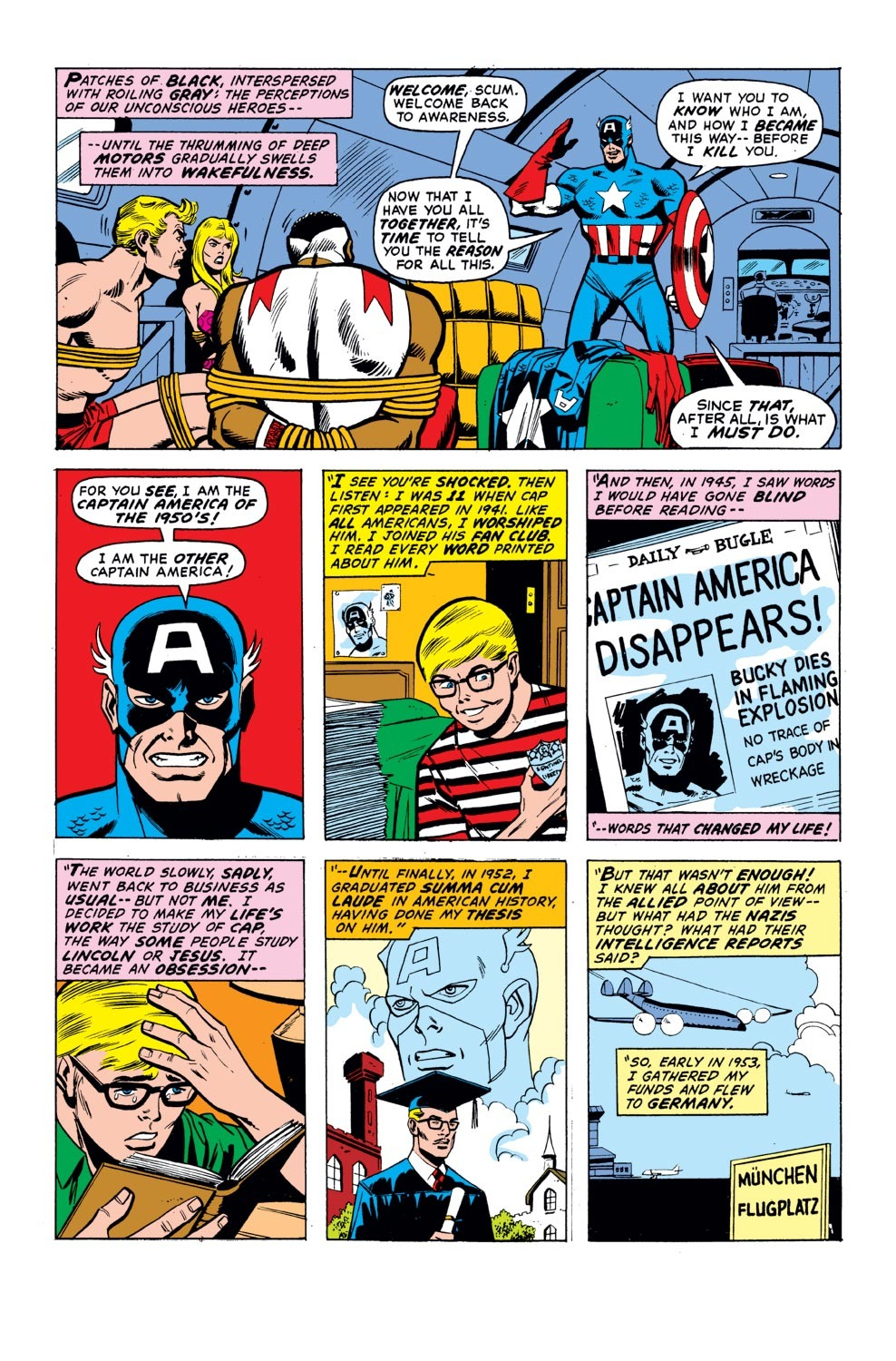Captain America (1968) Issue #155 #69 - English 9