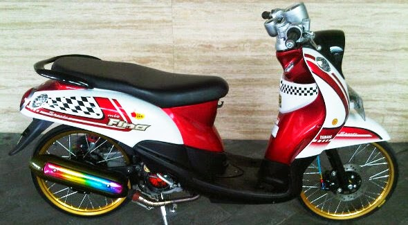Modifikasi Motor Yamaha Mio Fino Sporty