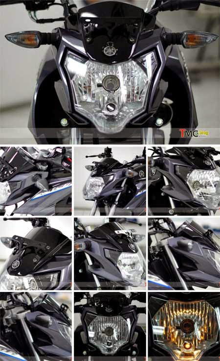 headlamp New Vixion Advance 2015