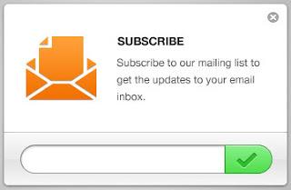 Cara Membuat Widget Email Subcriber Feedburner pada Blog