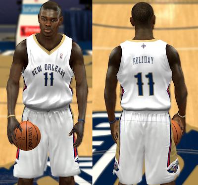 Pelicans Jersey Mod