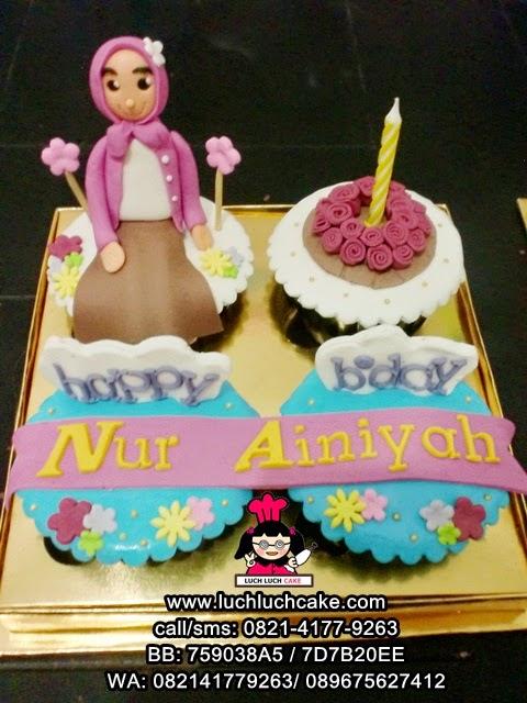 Cupcake Untuk Ulang Tahun Kakak Daerah Surabaya - Sidoarjo