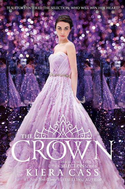 kiera cass the crown the selection series book 5 five dystopian young adult romance ya published 2016 the siren cover reveal release pretty purple dazzling gorgeous remake redesign redo cover