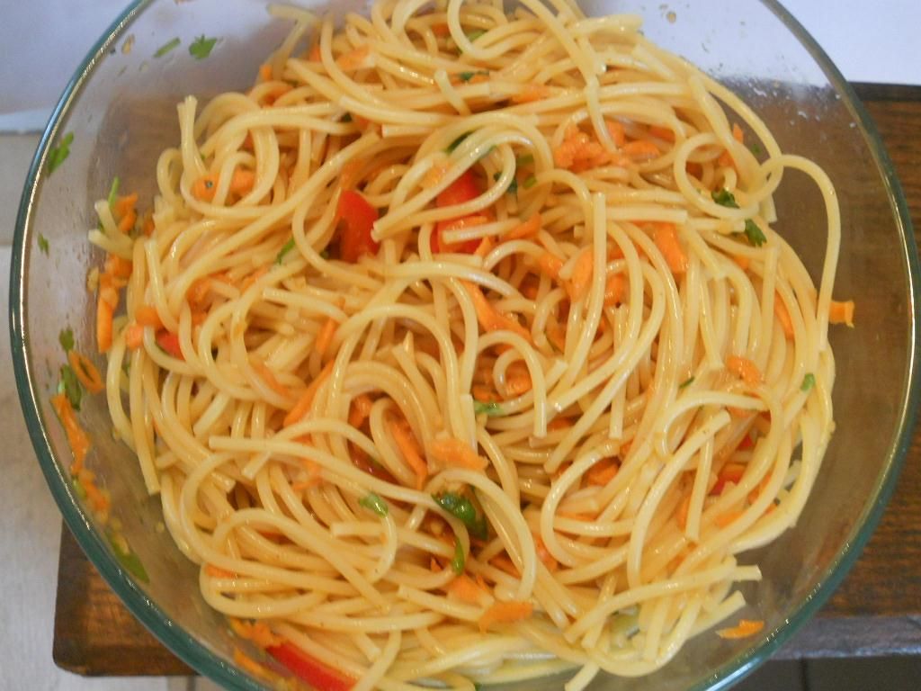 Cold Noodle Salad - Hezzi-D's Books and Cooks
