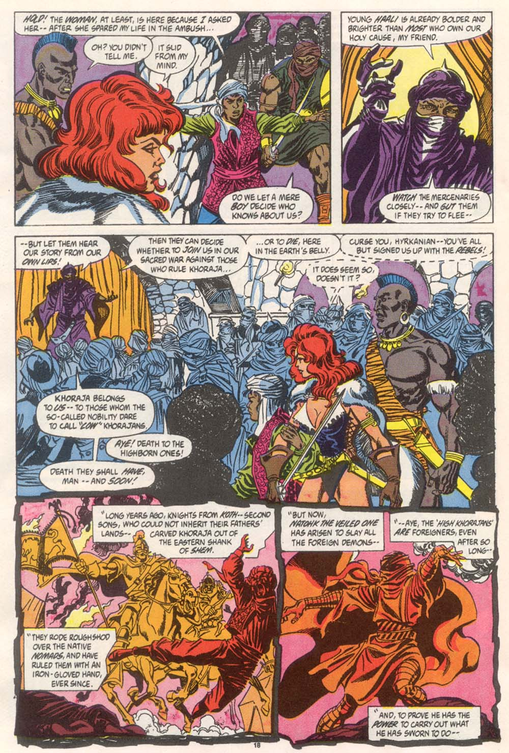 Conan the Barbarian (1970) Issue #246 #258 - English 15