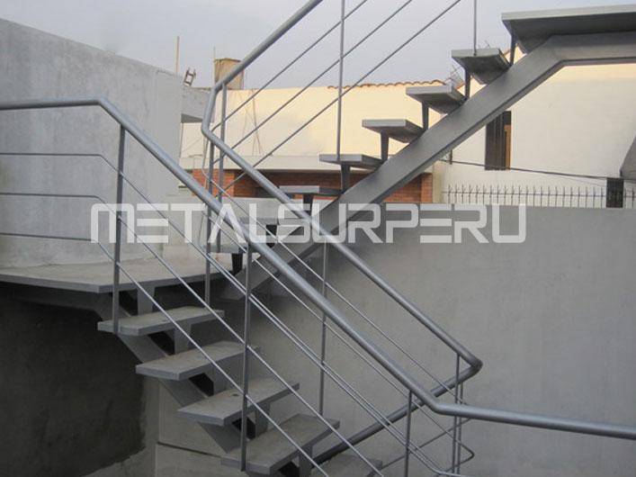 Escaleras met licas drywall arequipa for Escaleras metalicas planos