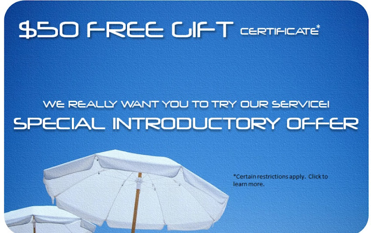 Get a Free $50 Gift Certicate from Concierge On The Fly