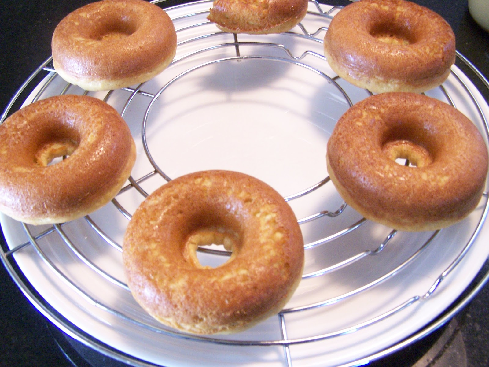 Baked Doughnuts Old Fashioned Glazed