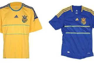 Kostum Ukraina Euro 2012