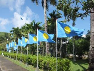 パラオ 国旗 観光 政界遺産 旅行
