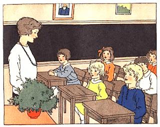 Joke in classroom