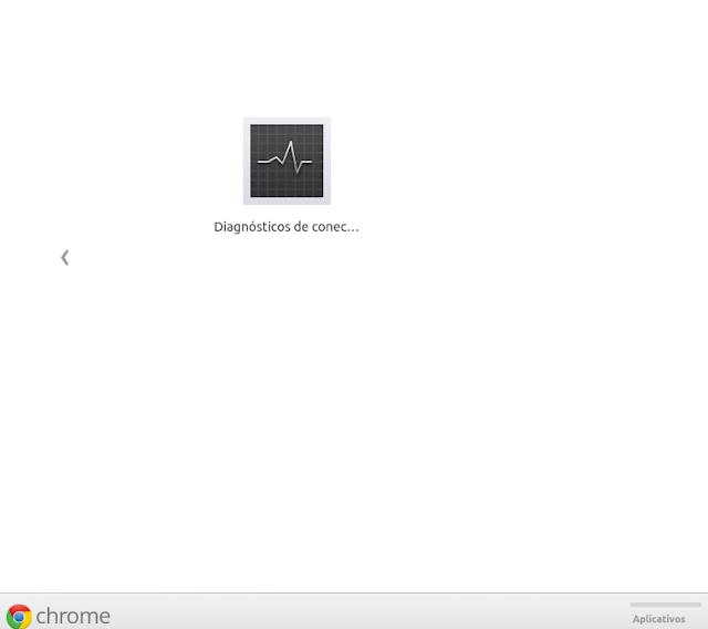 Diagnóstico de rede do Chrome
