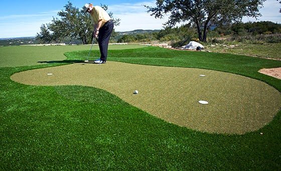 Dave Pelz on SYNLawn green
