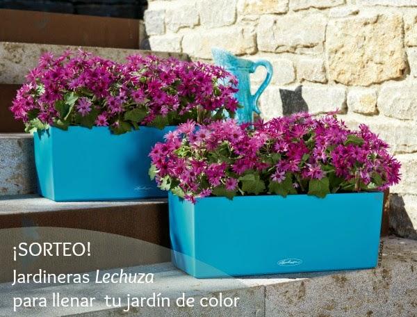 Jardineras llenas de color y encanto guia de jardin - Jardineras de colores ...