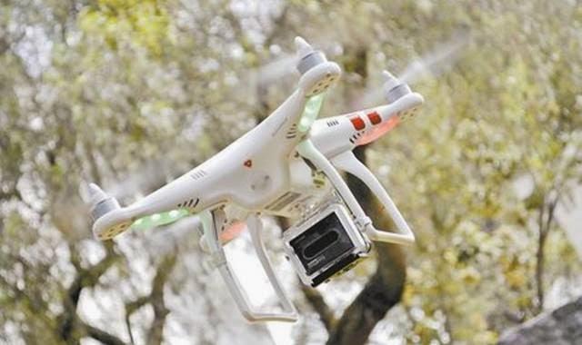 drone pemantau kebakaran